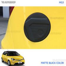 For MG3 MG 3 Hatchback 2015 2016 2017 Matte Black Fuel Oil Tank Cap Cover Trim