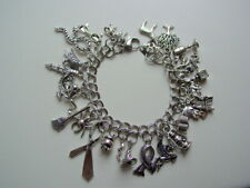 Handcrafted Inspired Harry Potter Charm Bracelet 25 Charms