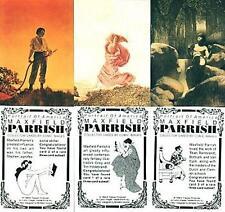 MAXFIELD PARRISH RARE SUBSET SET (3)