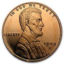 1 oz Copper Round - Lincoln Wheat Cent - SKU #95699