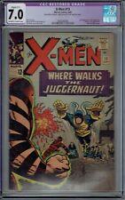 CGC 7.0 RESTORED X-MEN #13 2ND JUGGERNAUT APPEARANCE 1965