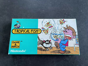 Nintendo Game and Watch - Tropical Fish RARE Great Condition With Box And Manual