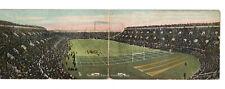 POSTCARD PANORAMIC HARVARD STADIUM CAMBRIDGE MA FOOTBALL GAME FANS RAPHAEL TUCK