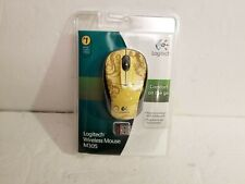 Logitech Gold Tendrils M305 Mouse and Receiver Victorian Style