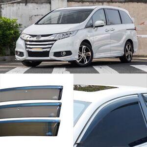 Auto Rain Shield Window Deflectors Door Sun Visor Shield For Honda Odyssey 2015+