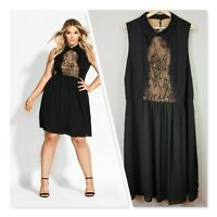 [ CITY CHIC ] Womens Lady Tiffany Dress NEW $129.95 | Size XL or AU 22 / US 18