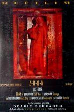 NEFILIM - FIELDS - 1996 - Plakat - Concert - Zoon - Tourposter