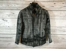 Adidas Womens Black Gray ZNE Pulse Cover Up Full Zip Jacket Size Small NWT