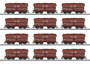 Märklin 46213 Selbstentladewagen-Set Erz IIId der DB 12-teilig #NEU in OVP#