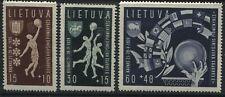 Lithuania 1939 Semi-Postal set unmounted mint NH