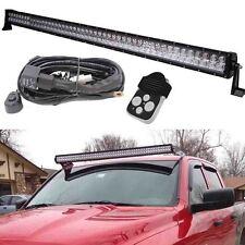 Ford Jeep JK TJ LJ 50 inch Osram LED Work Light Bar SUV ATV + Wiring harness kit