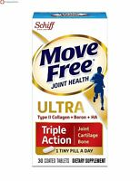 Move Free Ultra Triple Action for Joint, Cartilage, and Bone Support, 30 tablets