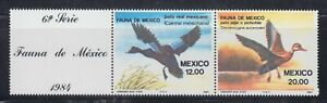 Mexico 1984 Sc 1347a Ducks  Mint Never Hinged