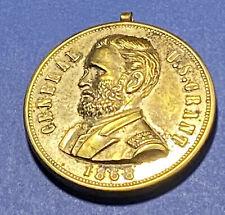 #2: An Original 1868 General U.S. Grant Political Badge