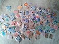 lot of old Italy stamps some overprints