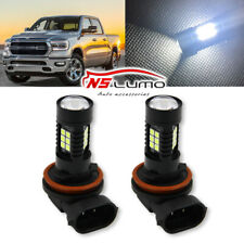 H10 9145 9140 80W LED Fog Driving Light DRL Bulbs For Ram 1500 2500 3500 2009-18
