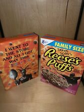 Travis Scott x Reeses Puffs Cereal | Limited Edition New Box Sold Out | 2 Pack