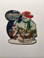 Disney Mickey Very Merry Christmas Party 2006 Chip And Dale Pin RARE