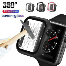 3D Plating PC Bumper Case  Protector for Apple Watch Series 5 4 iWatch 40mm 44mm