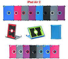 Para Apple iPad 2 Funda Protectora 2nd Gen Air Cubierta soporte se adapta Otterbox Defender