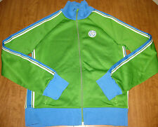 OLD NAVY retro jacket youth lrg XII Track embroidery patch old-school throwback