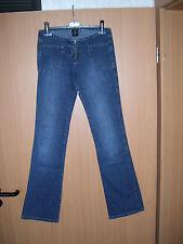 PASH Damen Stretch Jeans Hose Vintage Look blau Gr 38 L 34 NEU