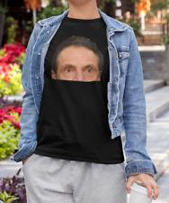 ANDREW CUOMO T SHIRT + WINDOW DECAL - Creepy Peeping Cuomo Sticker - Shirt Combo