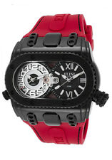 Elini Barokas Genesis World Dual Time Mens Watch ELINI-20019-BB-01-RDS