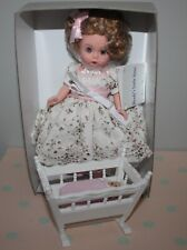 """8"""" Madame Alexander MA Doll Set WENDY'S LITTLE SISTER in Box Complete w/ Cradle"""