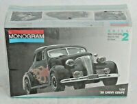 Vintage Revell Monogram 1/24 Scale '39 Chevy Coupe Model Car Kit NEW!
