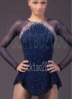 2018 new style Figure skating Dress Ice Skating Dress Costume Sparkle #8856