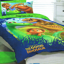 Good Dinosaur - AAAARGH! - Single/US Twin Bed Quilt Doona Duvet Cover set