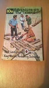 Ladybird Key words Reading Scheme 10a Adventure on the island