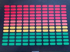 4 COLOUR EQ.   SOUND ACTIVATED FLASHING PANEL   1