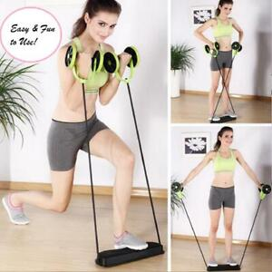 Ab Roller Abdominal Wheel Crunch Glider Gym Fitness Exercise Core Workout Equip