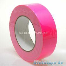 Neon Gaffa Tape Gewebeband Pink 38mm x 25m Fluoreszierend UV Klebeband
