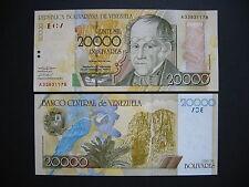 VENEZUELA  20000 Bolívares 16.8.2001  (P86a)  UNC