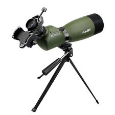 SVBONY FMC 25-75x70mm Angled Zoom Spotting Scope w/phone Adapter birdwatching