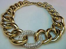 Givenchy/ Massive Haute Couture Runway Choker Necklace Estate Jewelry Vintage