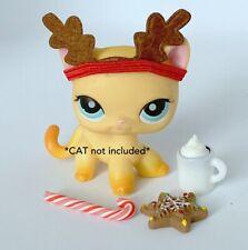 Littlest Pet Shop Accessories Lps Clothes Lot Reindeer *Cat / Dog Not Included*