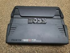 Boss Phantom 1800 Watt Speaker Amplifier