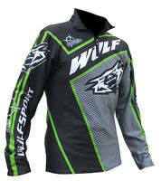 Wulfsport Wulf Motorcycle Offroad Trials Top Jersey