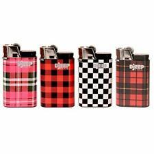 4 Djeep Plaid Lighters