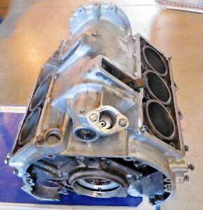 Citroen SM Maserati Merak Bare 2.7 Virgin Engine Block- C114/1 --Nice Shape