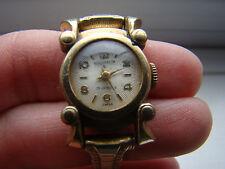 Vintage Ladies Art Deco Gold Plated KINGSTON Watch - 17 Jewels Swiss 231503