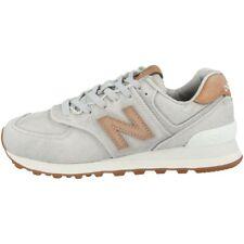 New balance WL 574 wte zapatos zapatillas con cordones light aluminio mazapán wl574wte