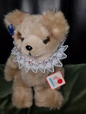 Beautiful New Applause Plush Stuffed Jointed Teddy Bear 'Amanda' Lace Collar 14""