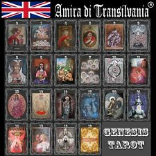 Major arcana Tarot cards desk rare collection signed certified limited edition