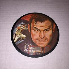 MATTEL INSTANT REPLAY DISC CHICAGO BEARS DICK BUTKUS 1971