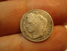 FRANCE  SILVER 20    CENTIMES   1850  A